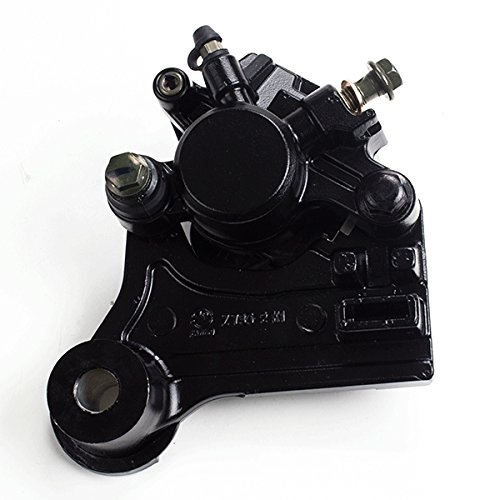 Black Single Pot Brake Caliper (Rear) for ZS125-48F (BKCPR028) by CMPO
