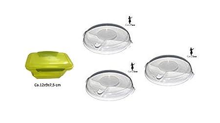 3 pieza Gastro Microondas Set Microondas plato Divide con 3 ...