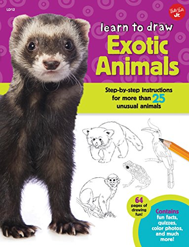 Learn to Draw Exotic Animals: Step-by-step instructions for more than 25 unusual - Frog Poison Draw