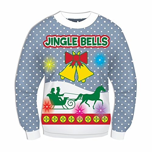 Forum Novelties Light Up Christmas Sweater