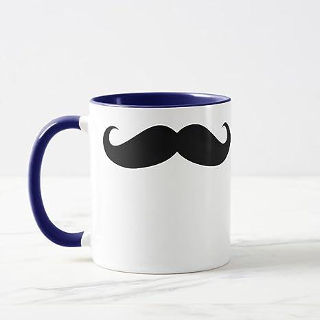 amazon com zazzle moustache coffee mug disguise funny mustache