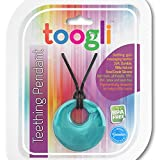Baby Teething Necklace For Mom by Toogli. Fashionable Nursing Necklace For Mom to Wear. FREE Bonus Teething Guide. BPA Free - Lifetime No-Hassle Satisfaction Guarantee - (Turquoise Swirl)