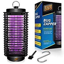 Bug Zapper Indoor and Outdoor - Insects Killer - Fly Trap Outdoor Patio - Insect Killer Zapper - Mosquito Trap - Insect Zapper - Mosquito Attractant Trap - Fly Zapper - Bug Zapper Table Top