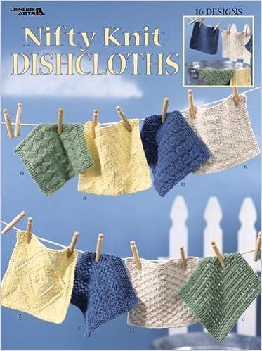 Leisure Arts-nifty Knit Dishcloths