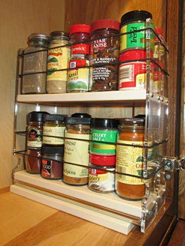 Vertical Spice 22x2x11 Dc Spice Rack Narrow Space W
