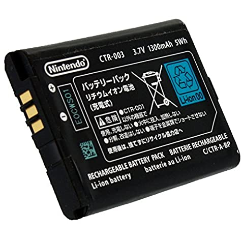 OFFICIAL OEM Nintendo 3DS CTR-003 Rechargeable Battery - Wholesale Outlet