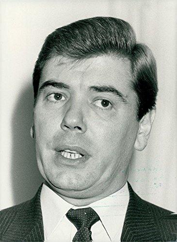 Vintage photo of Sir David Austin Trippier