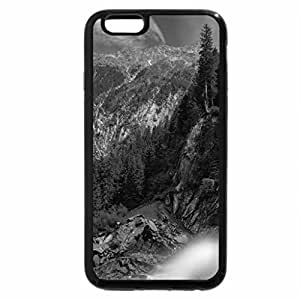 iPhone 6S Case, iPhone 6 Case (Black & White) - Krimml Waterfall, Austria