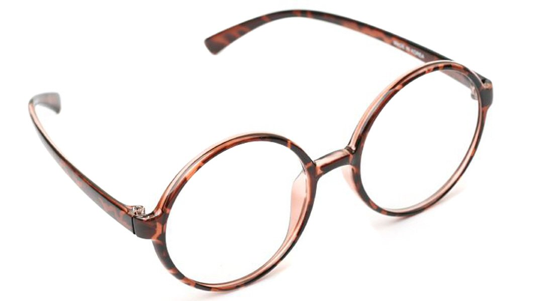 99afa37a98f Amazon.com  Large 360 Big Round Oversized Reading Glasses Flexible Frame  All Strength Free Hard Case (+1.75