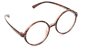 58afeb6b25d Image Unavailable. Image not available for. Color  Large 360 Big Round  Oversized Reading Glasses Flexible ...