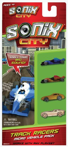 Sonix City Track Racers Vehicle Pack