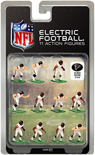 Atlanta FalconsWhite Uniform NFL Action Figure Set