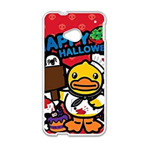 Happy Lovely B.Duck Happy Halloween fashion cell phone case for HTC One M7