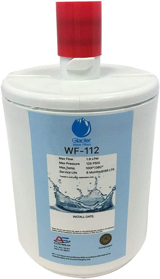 Replacement for LG LSC23924ST Refrigerator Water Filter LT500P Fridge Water Filter Cartridge Compatible with LG 5231JA2002A