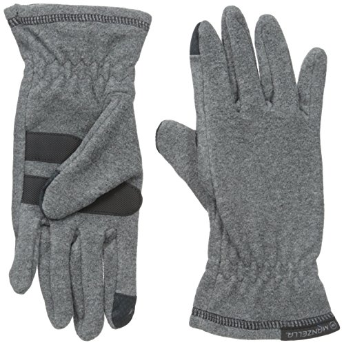 Manzella Women's Tahoe Ultra Touch Tip Gloves, Oxford Heather, (Manzella Ski)