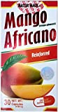Mango Africano Master Magic,  African Mango Reinforced 30 Capsules  500 milligrams, Natural Weight Loss, Dietary Supplement.