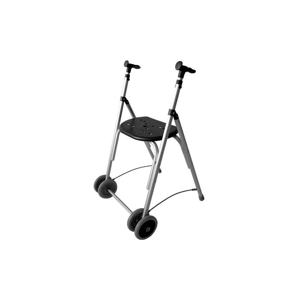 Forta fabricaciones - Andador de aluminio con asiento de ...