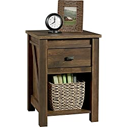 Ameriwood Home Farmington Night Stand, Small, Century Barn Pine