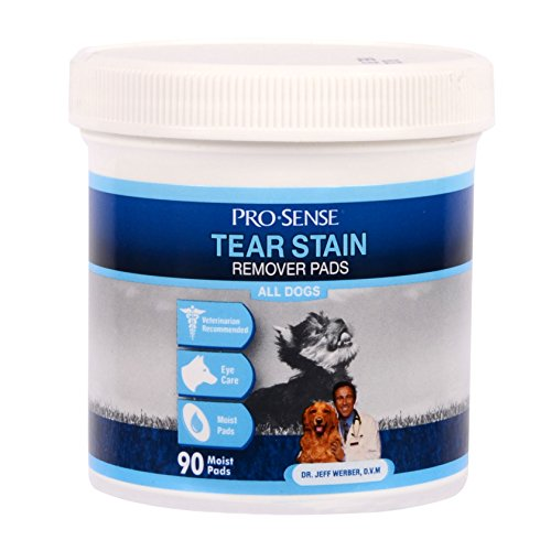ProSense Tear Stain Remover Pads, 90 Count
