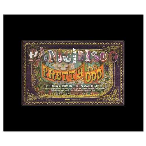 Panic At The Disco - Pretty Odd Mini Poster
