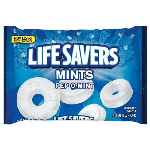 (LifeSavers Pep O Mint Mints, 13 oz. Bag, Pack of 2)