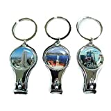 la clipper bottle opener - Keychain With Nail Clipper & Bottle Opener Design New York (1 piece)