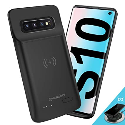 Amazon.com: NEWDERY Upgraded Samsung Galaxy S10 Battery Case ...