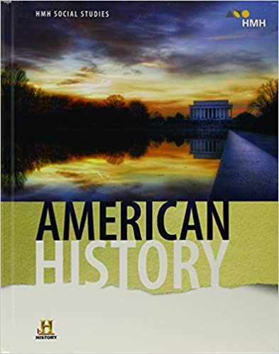 HMH Social Studies American History Student Edition 2018