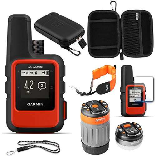 (Garmin inReach Mini GPS (Orange) with Accessories Bundle )