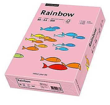 Papyrus 88042695 Ramette de 500 feuilles de papier Rainbow A4 80 g//m/² Bleu clair