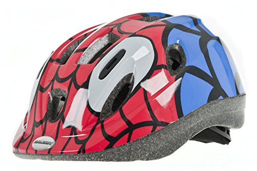 Spider Man Child Helmet (Marvel Comics Children's Spiderman Bicycle Bat Helmet Ages 4+)