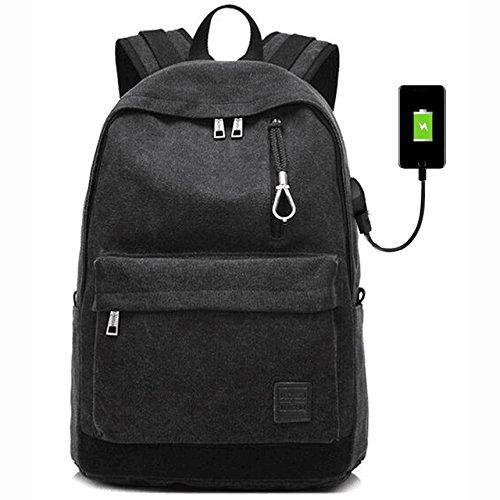 Laptop Backpack For Men Back Pack - Box Pack Black
