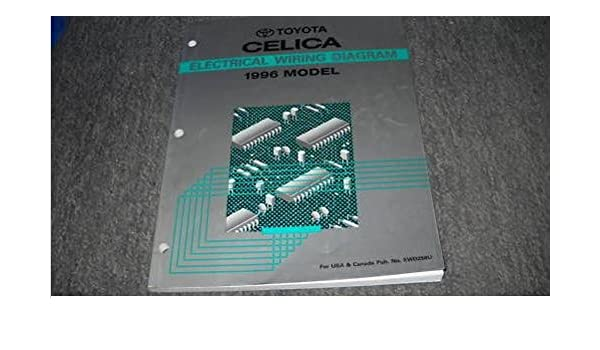 1996 toyota celica electrical wiring diagram service shop repair manual ewd  96 paperback – 1996