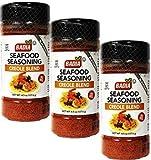 Seafood Seasoning Creole Cajun 4.5 oz Pack of 3