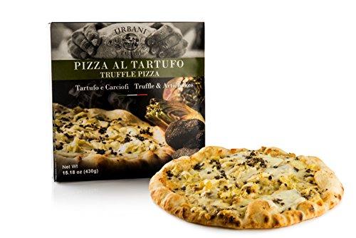Frozen Pizza with Artichokes and Truffle - 15.18 Oz -  Urbani Truffles