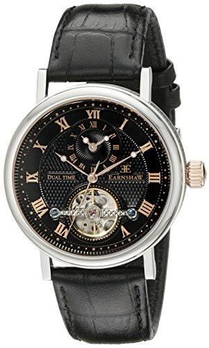 Thomas Earnshaw Men's ES-8047-01 Beaufort Analog Display Automatic self Wind Black Watch