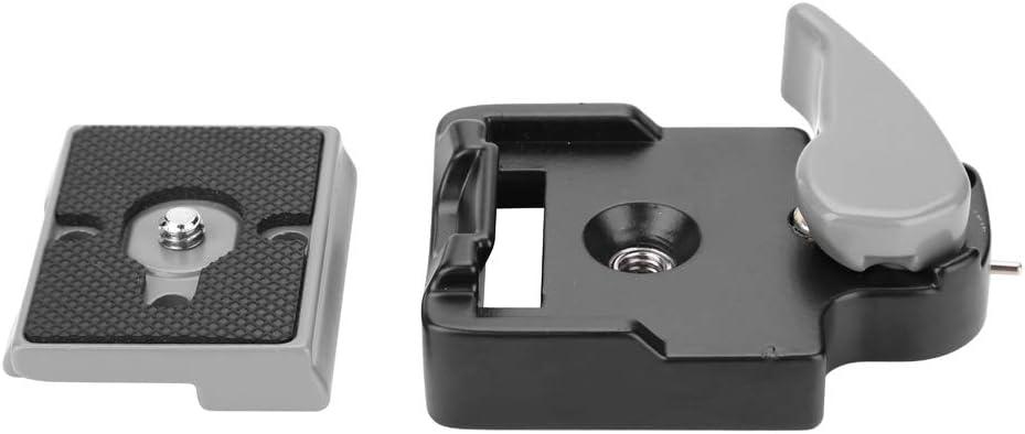 Diyeeni Piastra a sgancio rapido Piastra Adattatore QR in Lega di Alluminio per Testa a Sfera per treppiede DSLR