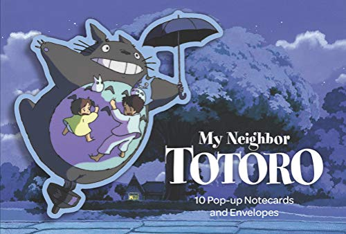 My Neighbor Totoro: 10 Pop-Up Notecards and