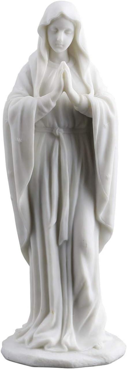 JFSM INC Blessed Virgin Mary Statue Sculpture Figurine 8