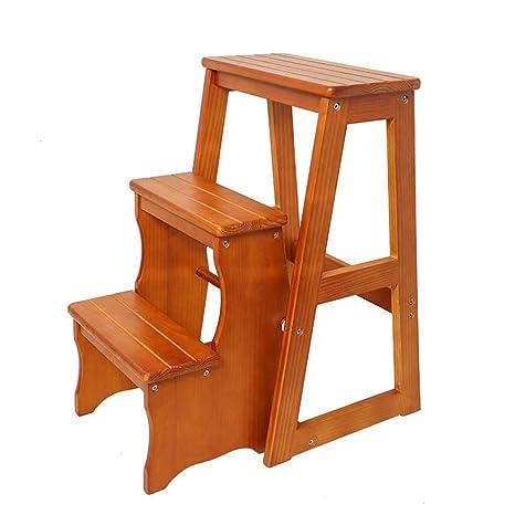 Astounding Amazon Com Zxl Utility 3 Step Stool For Home Office Kitchen Machost Co Dining Chair Design Ideas Machostcouk