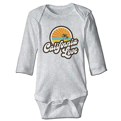 California Love Toddler Long Sleeve Bodysuits Jumpsuit