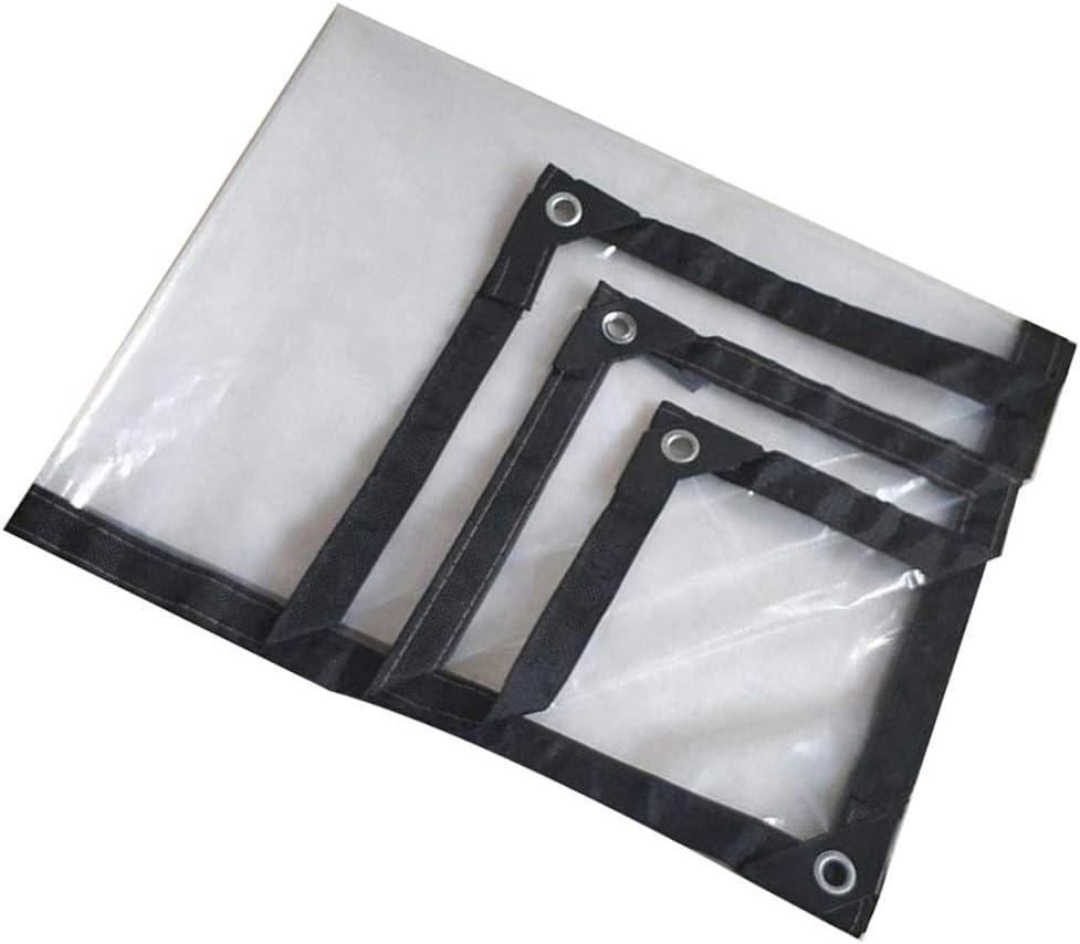 SACYSAC Transparent /étanche B/âche Bonne /étanche avec Coin renforcement du Cadre perfor/é Camping,2x3m utilis/é pour la toiture