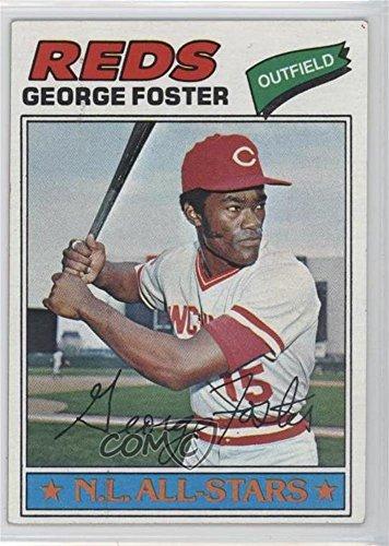 George Foster (Baseball Card) 1977 Topps - [Base] #347
