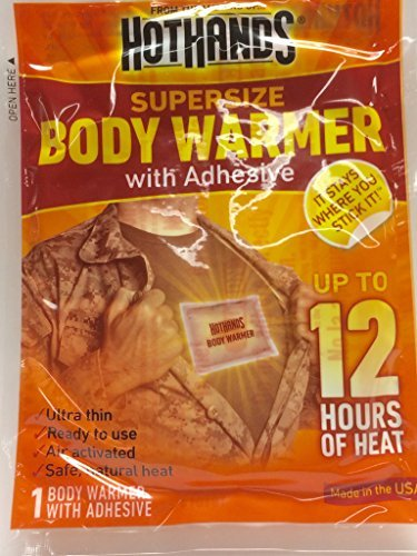 Hothands Adhesive Body Warmer (Choose Quantity Below) (2pk (16 Warmers)) by HotHands