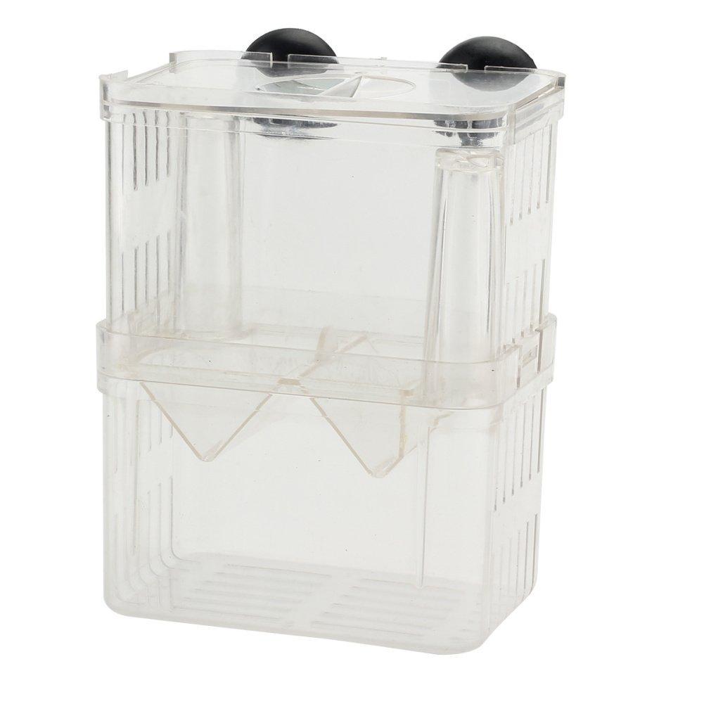 Transparente Acuario Tanque de cr/ía de peces caja de aislamiento incubadora de obtentor el Criadero