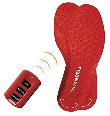 Thermacell Rechargeable Heated Insole (XX Large) Color: Red Size: XX Large Model: THS01 XXL