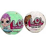 Bundle Lets Be Friends! Miss Punk and Glitter Series - 2 LOL Surprise Dolls