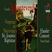 Monteverdi: Vesperae in Nativitate / Hassler Consort by Monteverdi