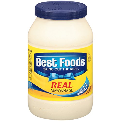 Best Foods Real Mayonnaise, 48 oz , (Pack of 2) (Best Foods Organic Mayonnaise Ingredients)