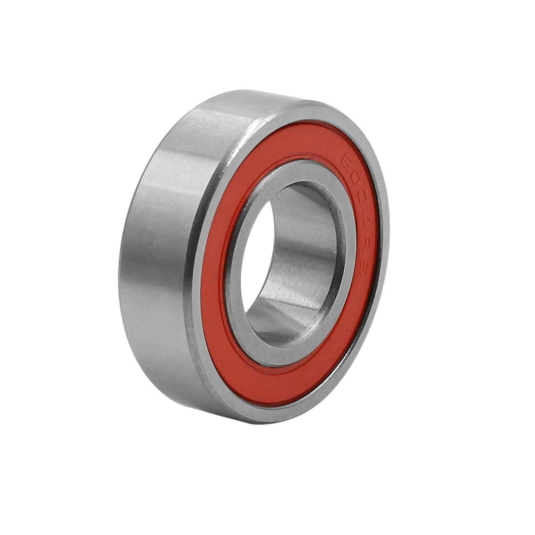 Sourcingmap 6004RS Deep Groove Ball Bearing Rubber Sealed Shielded Universal